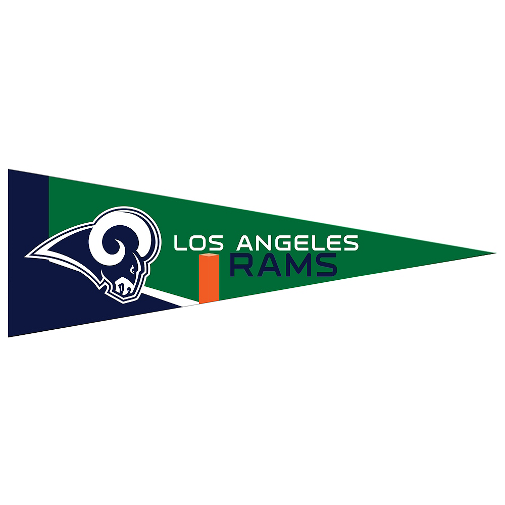 Small Los Angeles Rams Pennant Flag Image #1