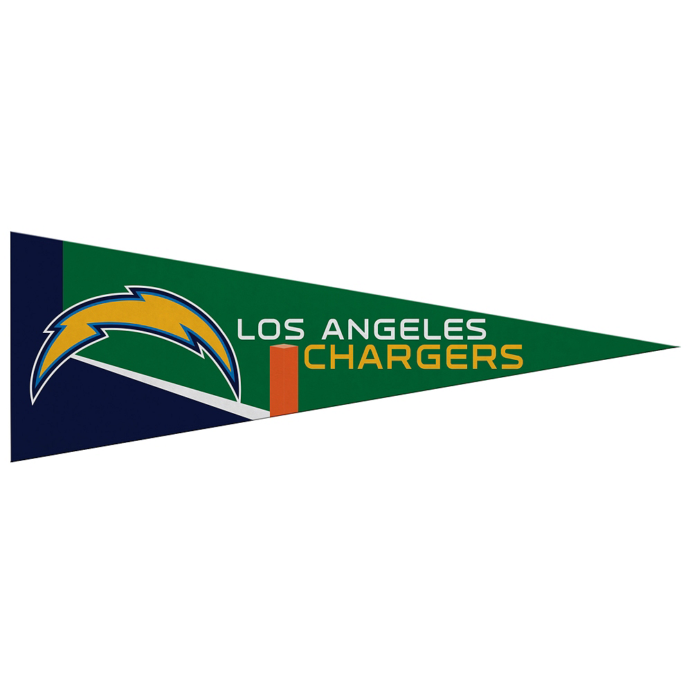 Small Los Angeles Chargers Pennant Flag Image #1