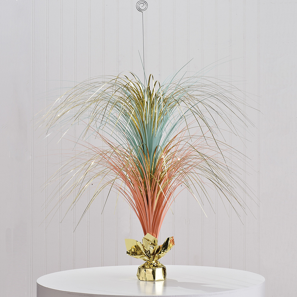 Giant Pastel & Gold Spray Centerpiece Image #2
