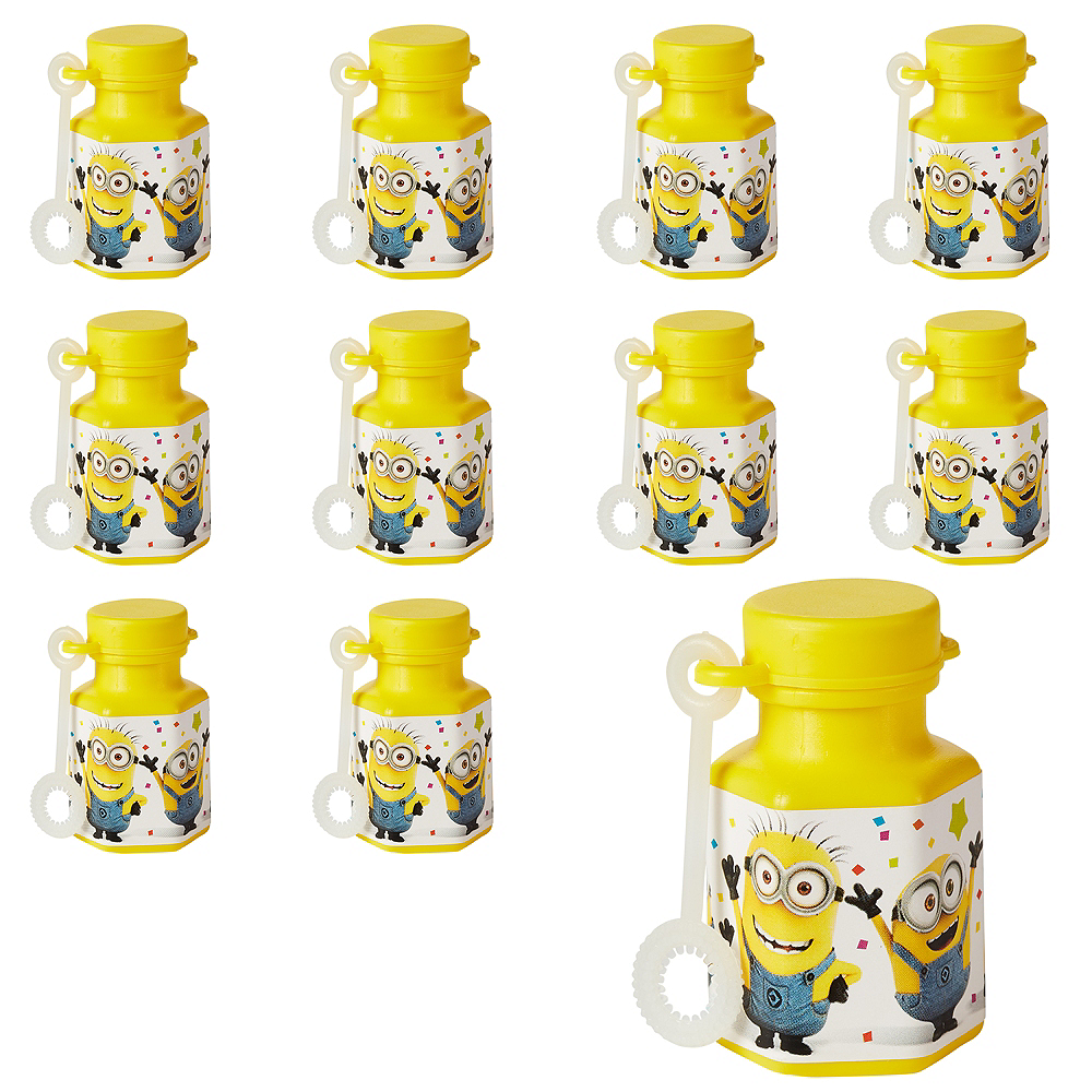 Despicable Me Mini Bubbles 48ct Image #1
