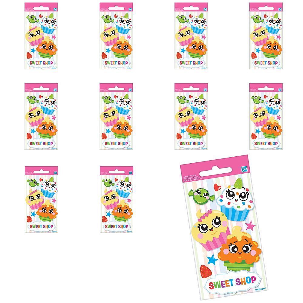 Jumbo Sweet Shop Stickers 24ct Image #1