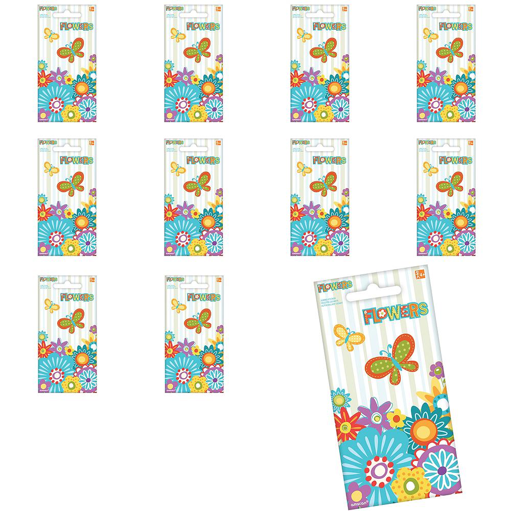 Jumbo Flowers Stickers 24ct Image #1