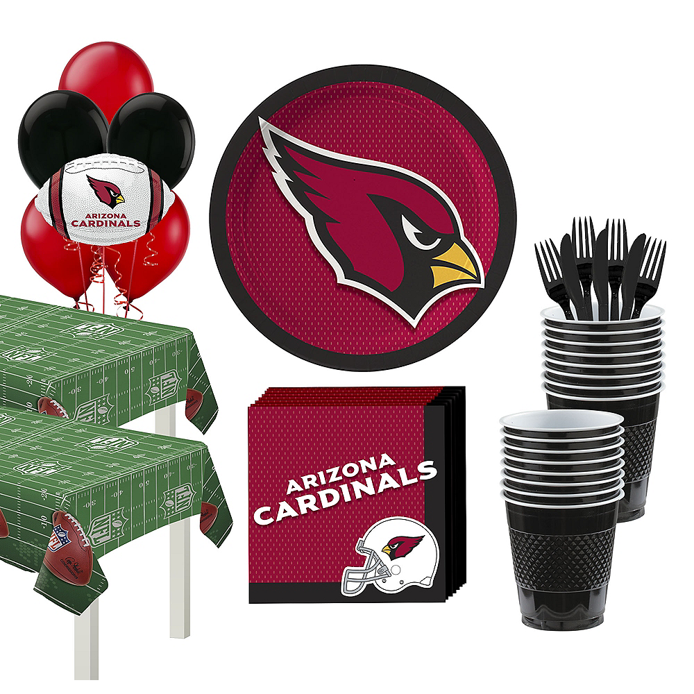 Super Arizona Cardinals Party Kit for 36 Guests Image #1