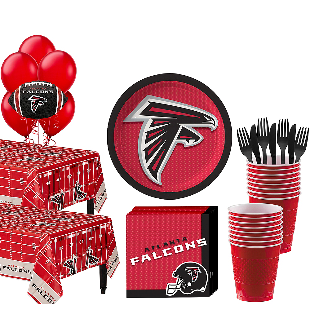 Super Atlanta Falcons Party Kit for 36 Guests Image #1