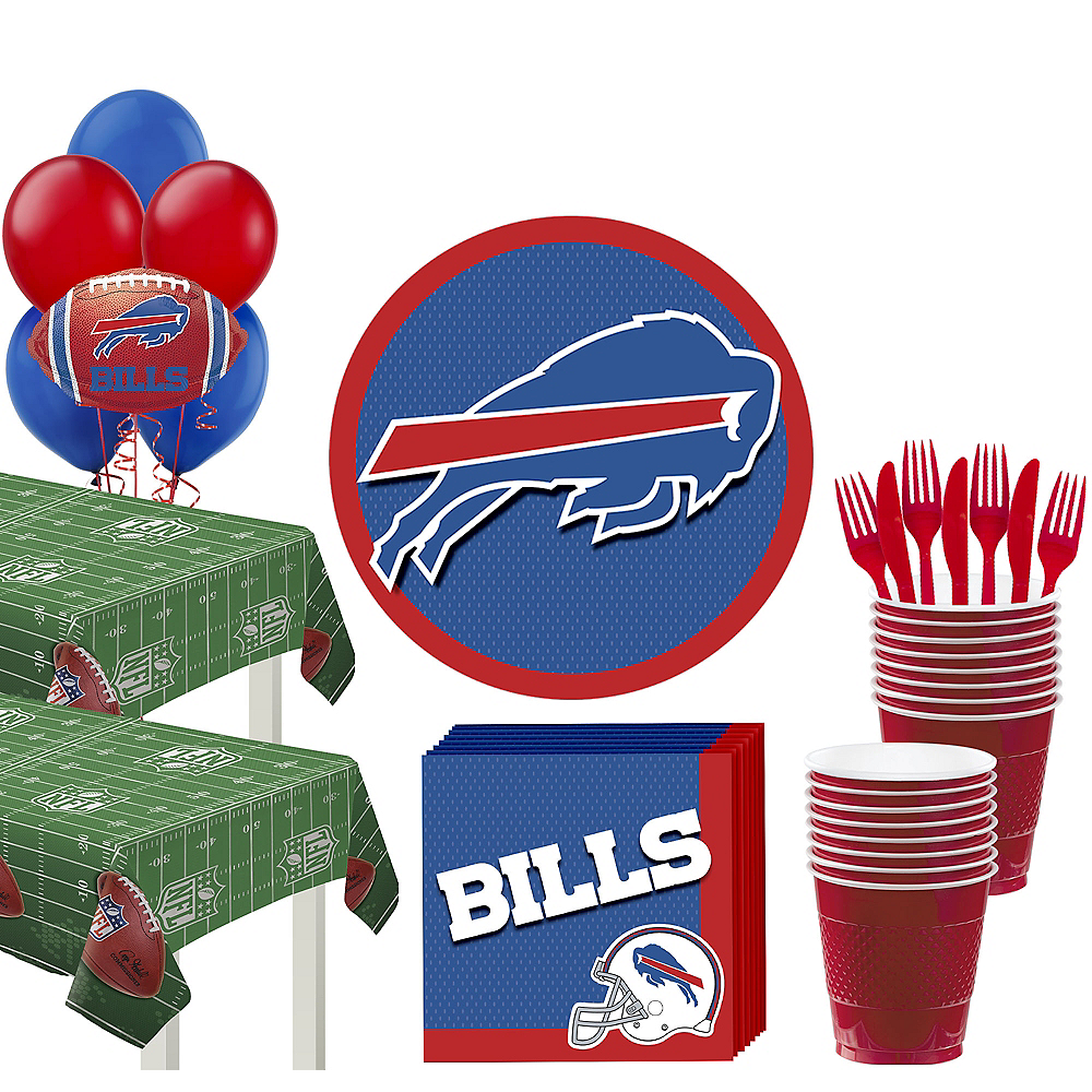 Super Buffalo Bills Party Kit for 36 Guests Image #1