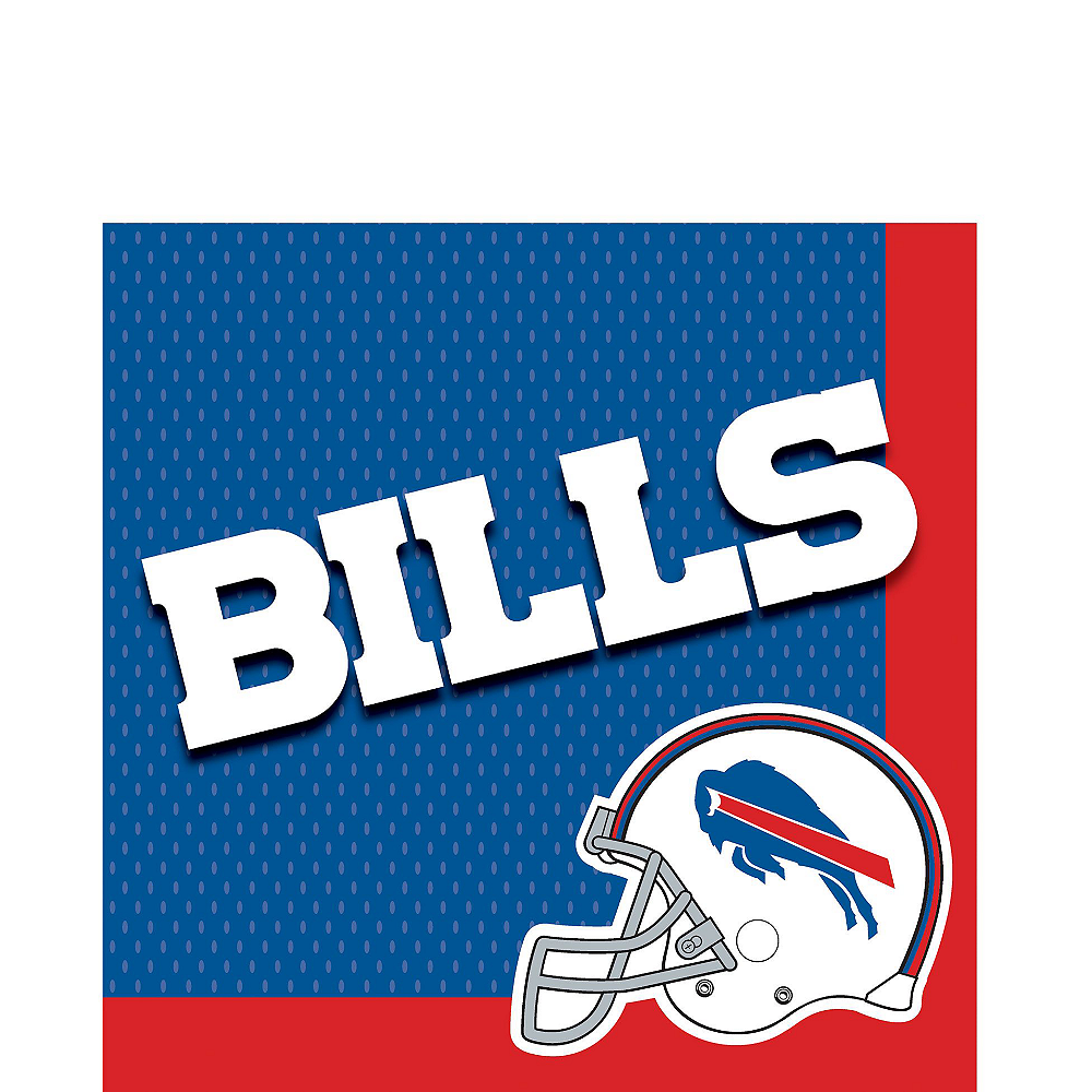 Super Buffalo Bills Party Kit for 36 Guests Image #3