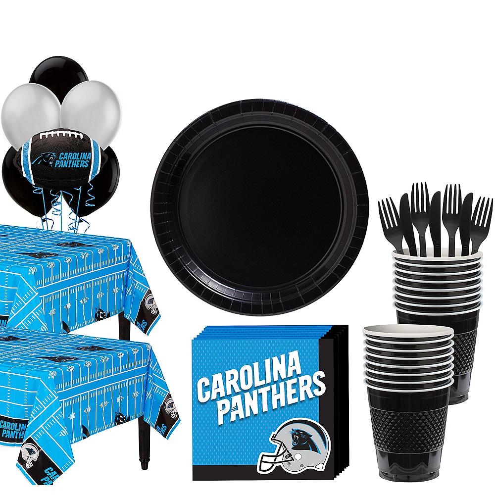 Super Carolina Panthers Party Kit for 36 Guests Image #1