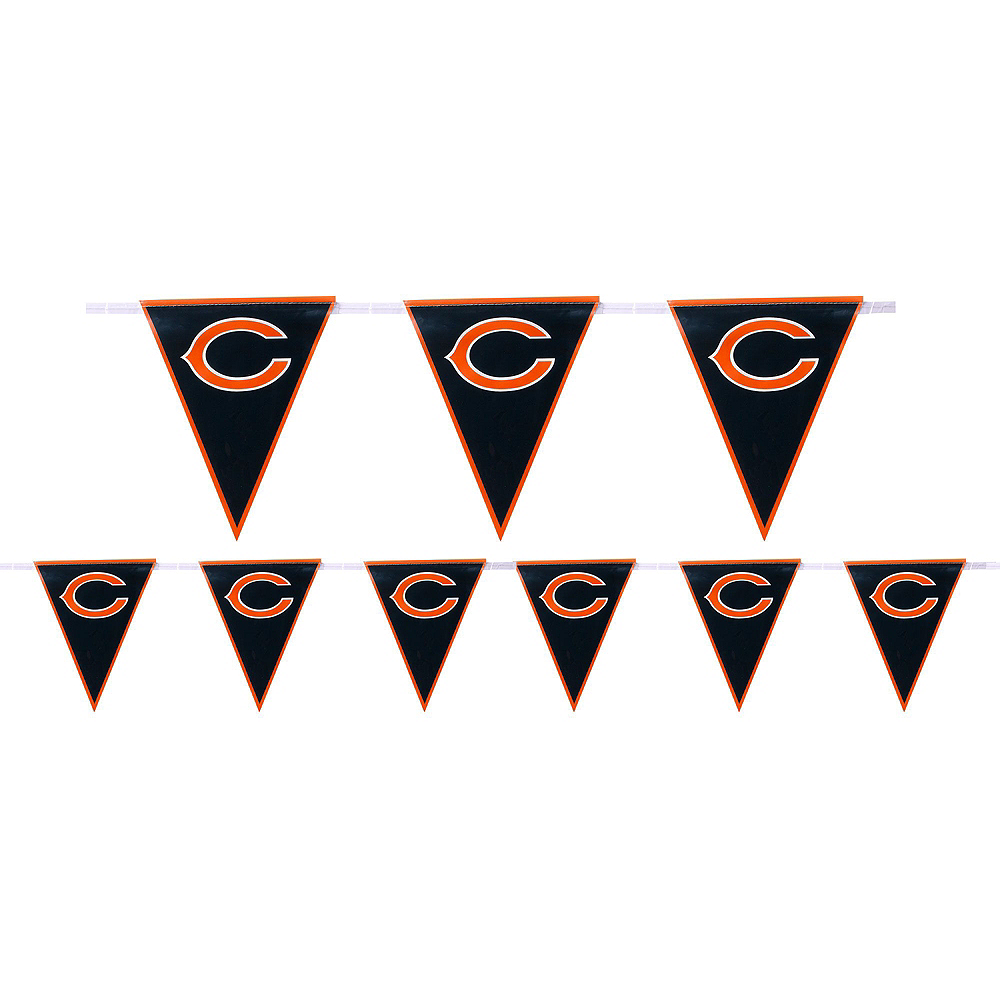 Super Chicago Bears Party Kit for 36 Guests Image #6