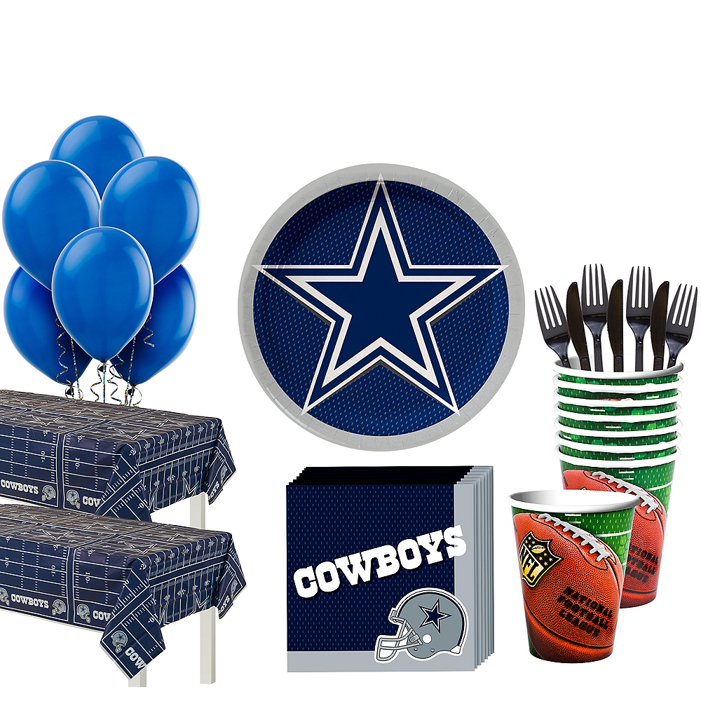 Super Dallas Cowboys Party Kit for 36 Guests Image #1