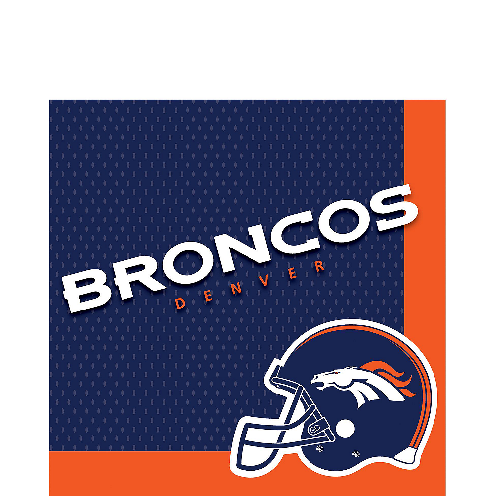 Super Denver Broncos Party Kit for 36 Guests Image #3