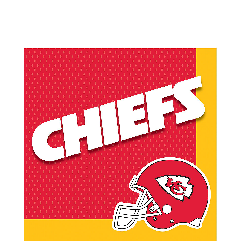 Super Kansas City Chiefs Party Kit for 36 Guests Image #3