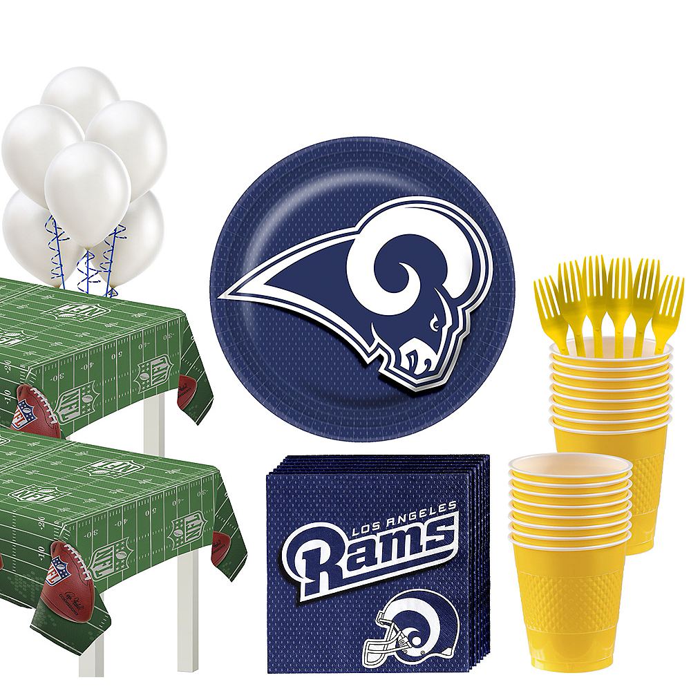 Super Los Angeles Rams Party Kit for 36 Guests Image #1