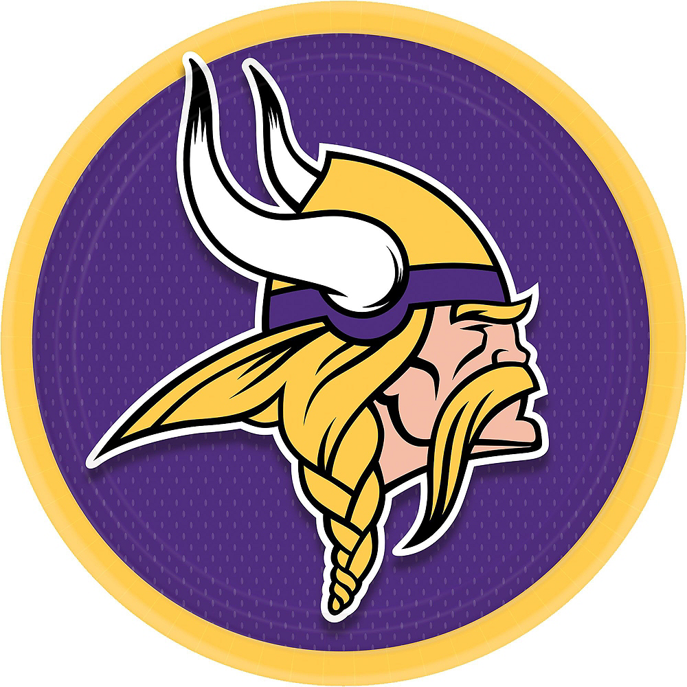 Super Minnesota Vikings Party Kit for 36 Guests Image #2