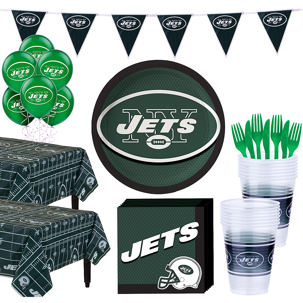 Super New York Jets Party Kit for 36 Guests Image #1