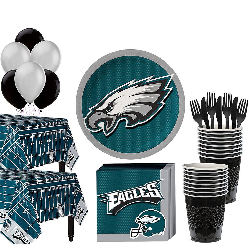 Super Philadelphia Eagles Party Kit For 36 Guests