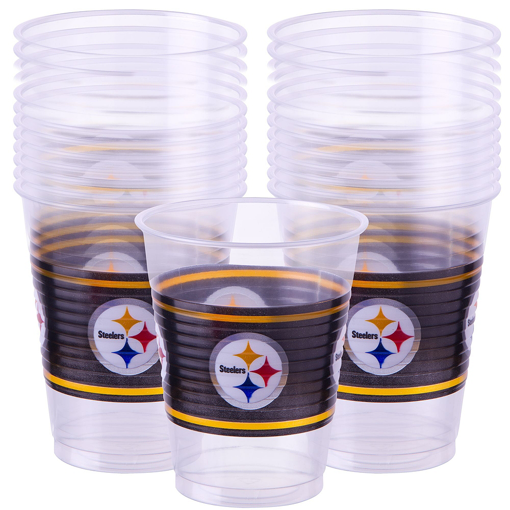 Super Pittsburgh Steelers Party Kit for 36 Guests Image #4