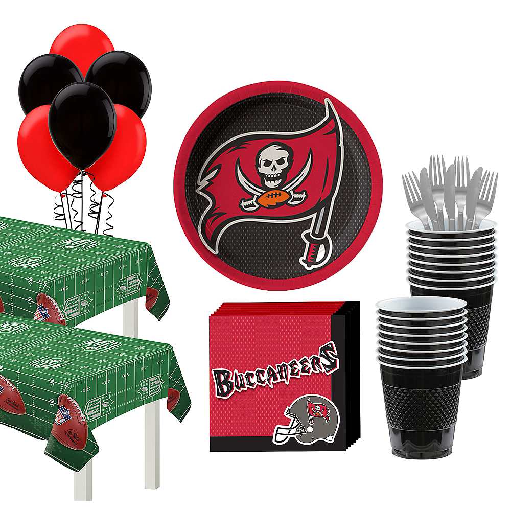 Super Tampa Bay Buccaneers Party Kit for 36 Guests Image #1