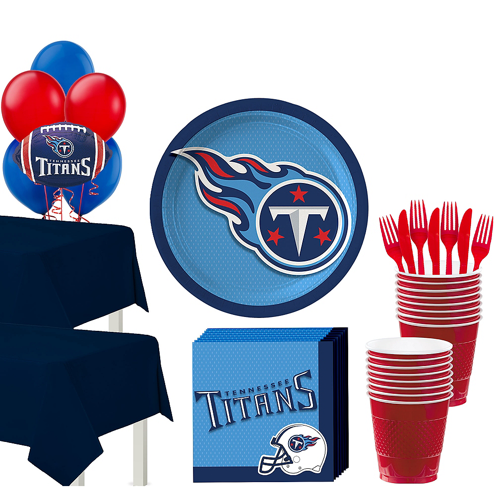 Super Tennessee Titans Party Kit for 36 Guests Image #1