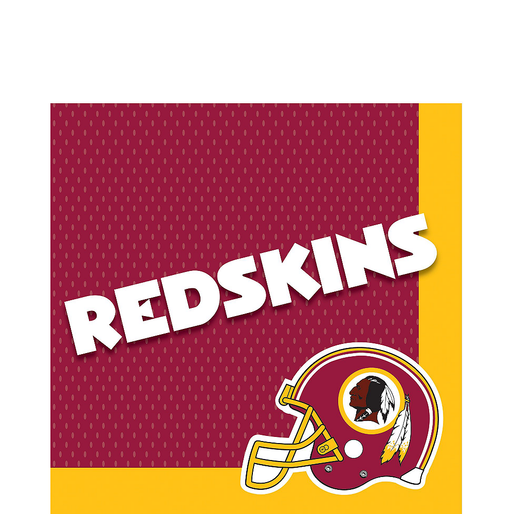 Super Washington Redskins Party Kit for 36 Guests Image #3