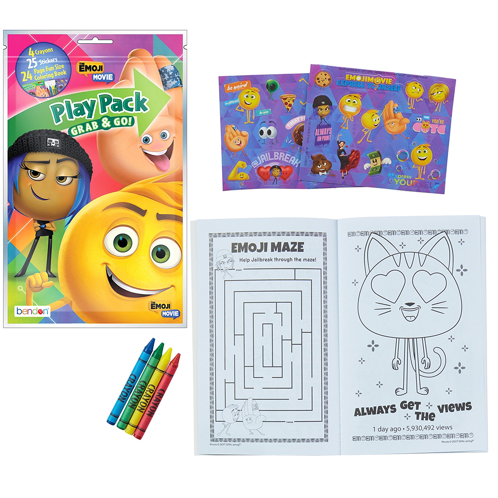 The Emoji Movie Activity Kit Image 1