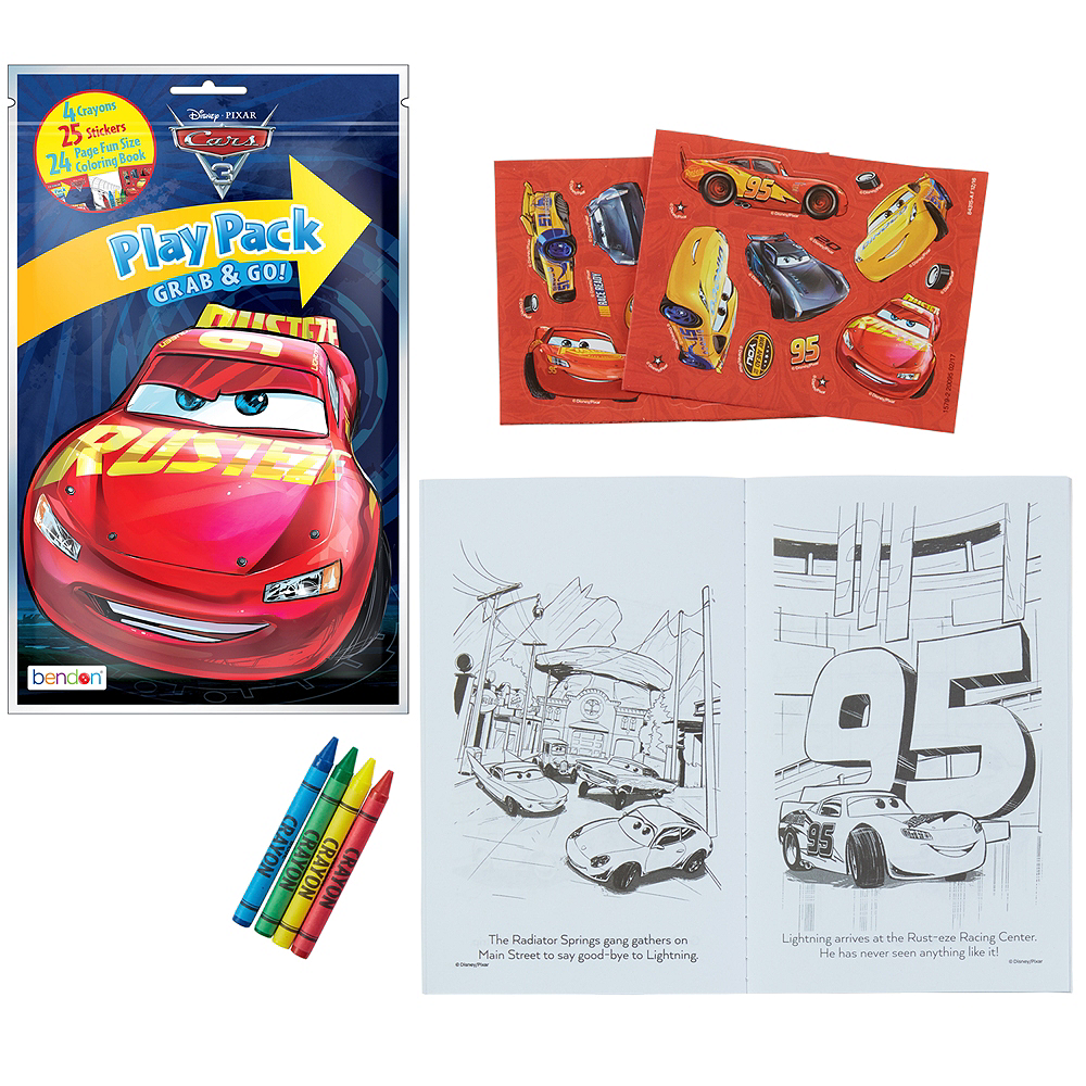 Nav Item for Cars 3 Activity Kit Image #1