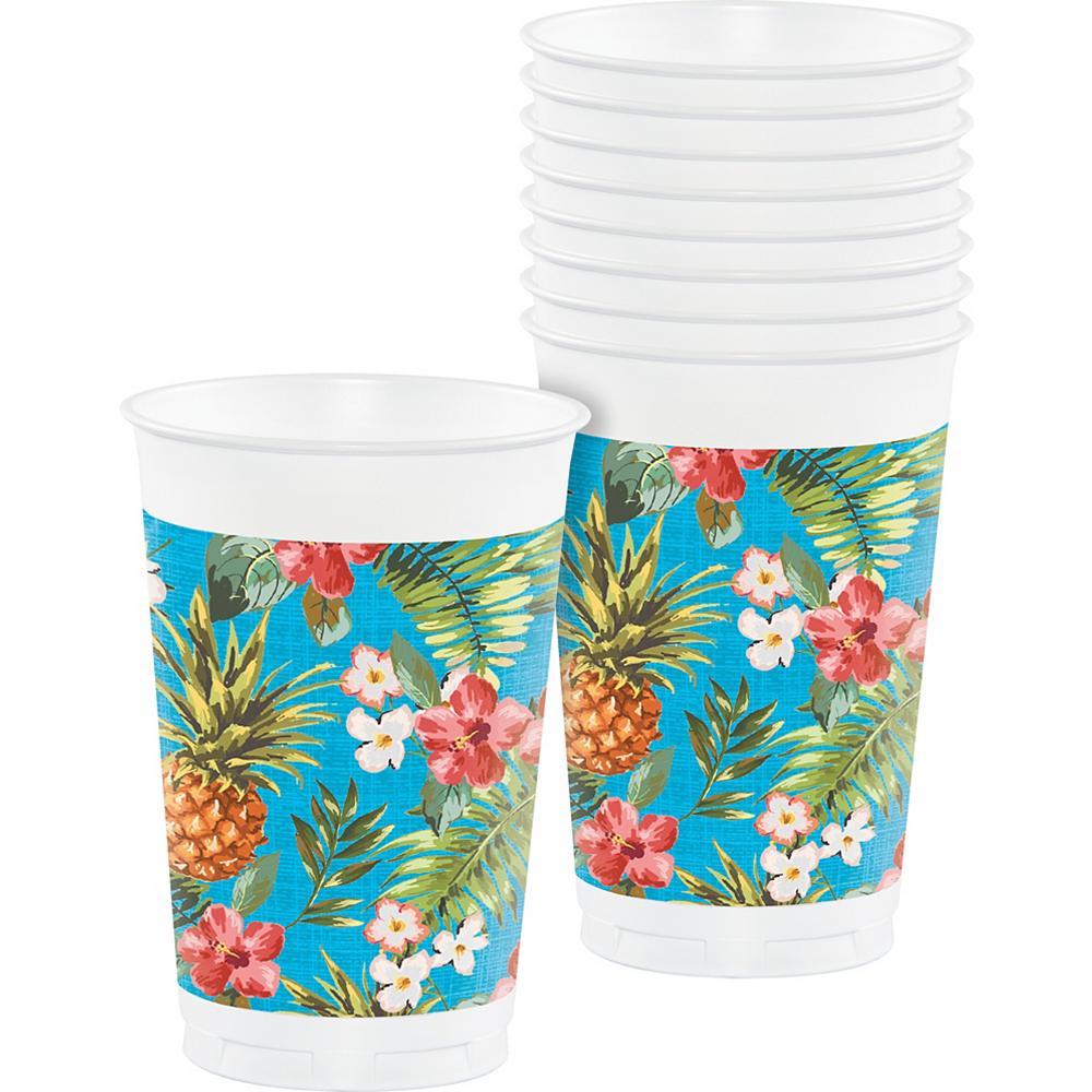 Aloha Hawaiian Plastic Cups 8ct Party City