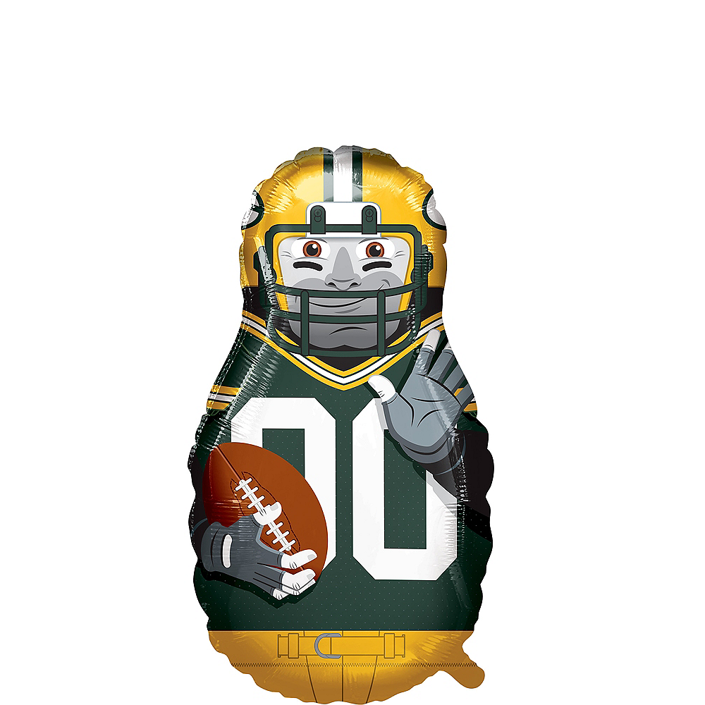 Giant Football Player Green Bay Packers Balloon Image #1