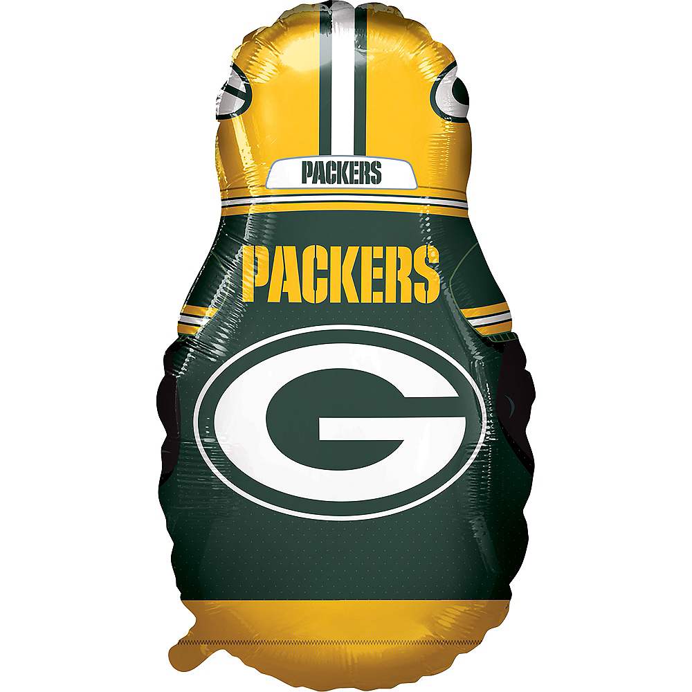 Giant Football Player Green Bay Packers Balloon Image #2