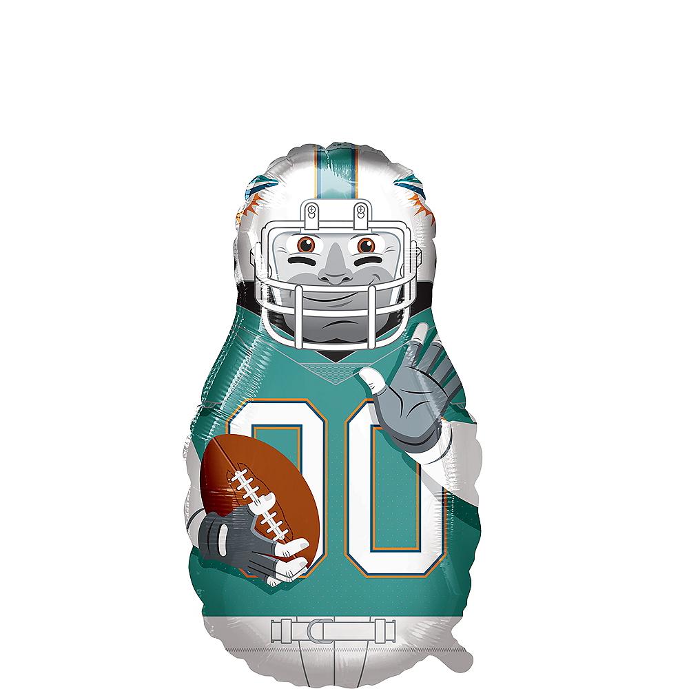 Giant Football Player Miami Dolphins Balloon Image #1