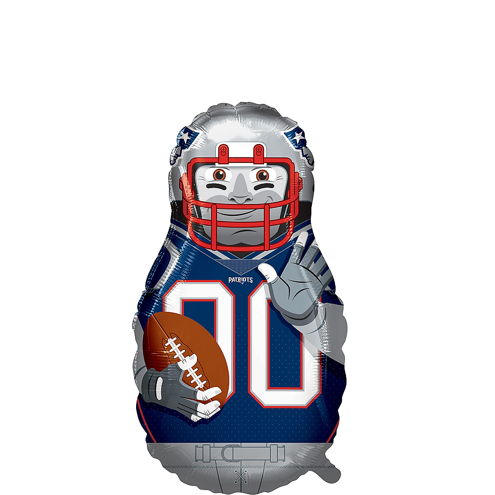 Giant Football Player New England Patriots Balloon Image #1