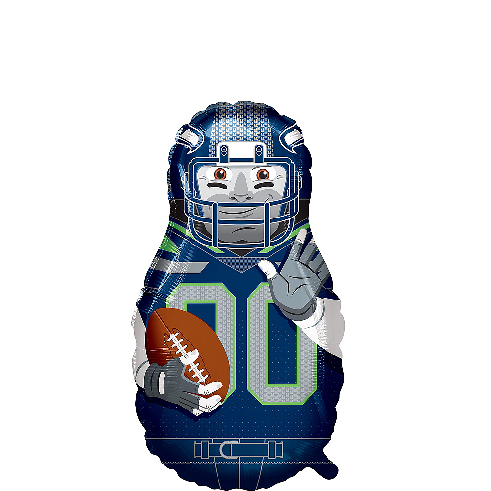 Giant Football Player Seattle Seahawks Balloon Image #1