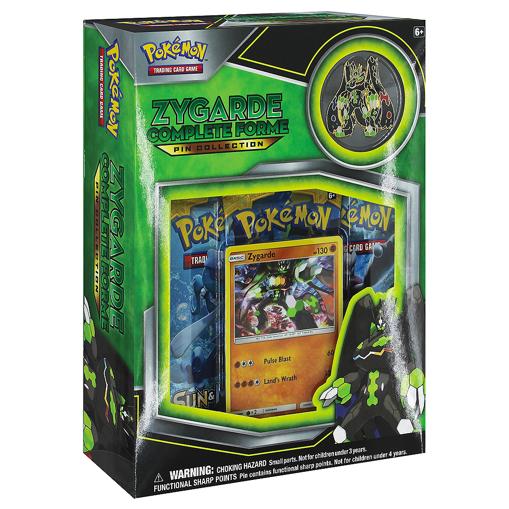 Pokemon TCG Zygarde Complete Form Pin Collection Image #1