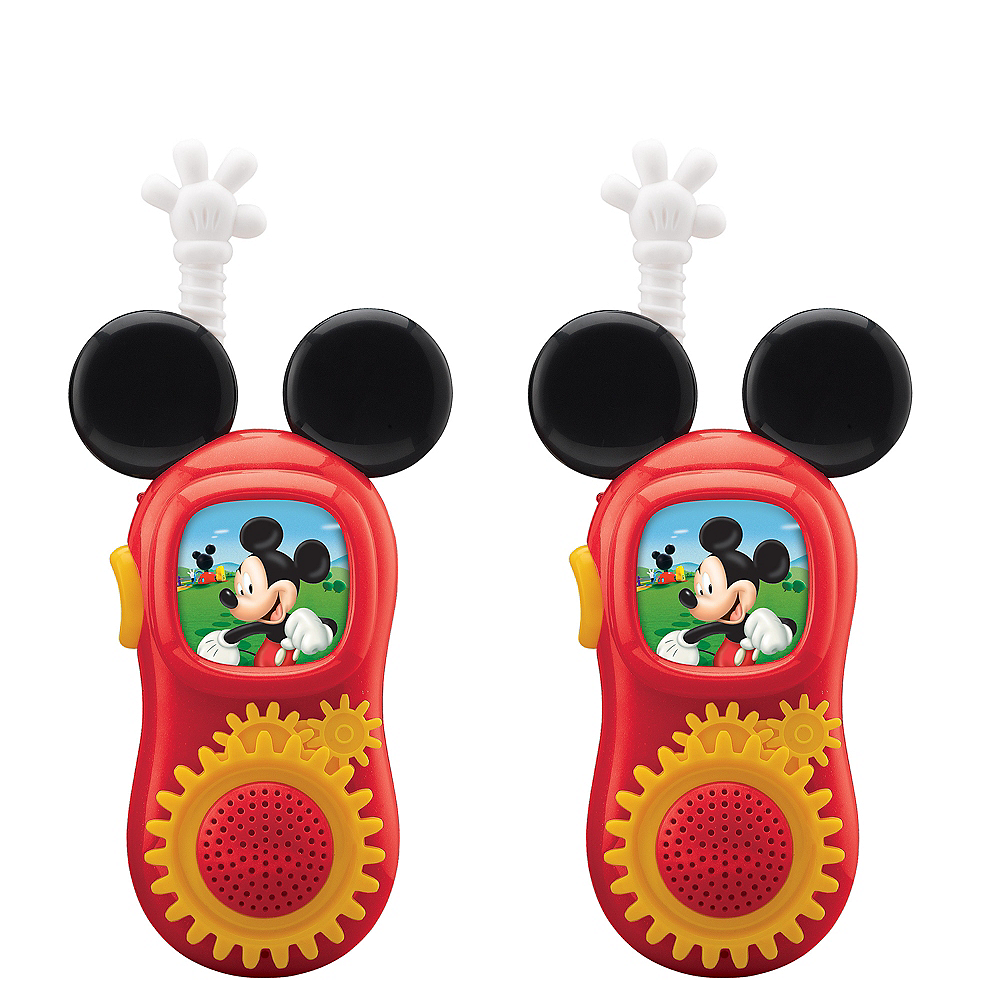 Mickey Mouse Walkie Talkies 2ct Image #1