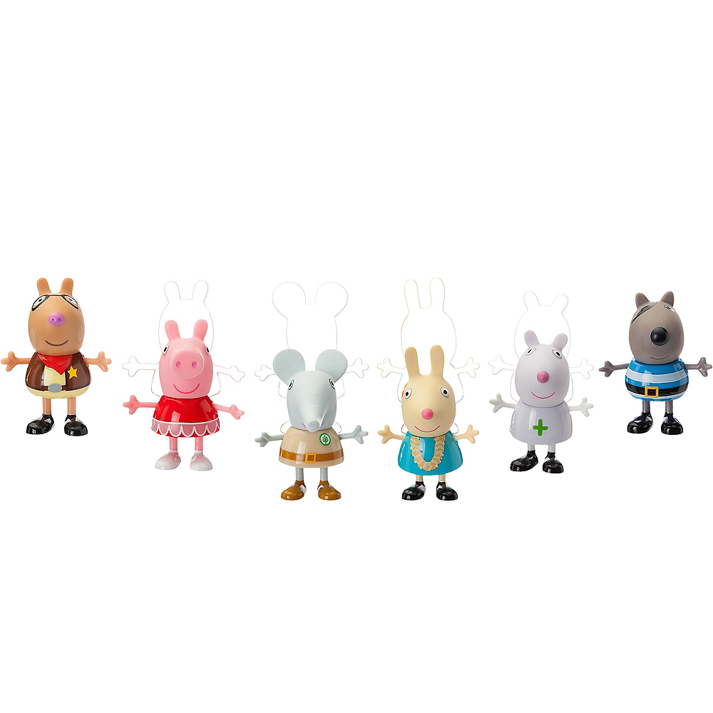 Peppa Pig's Fancy Dress Party Playset 6pc Image #1