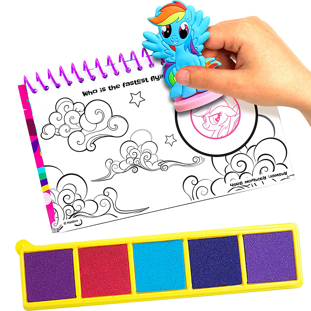 Nav Item for My Little Pony Stamp Set 12pc Image #2