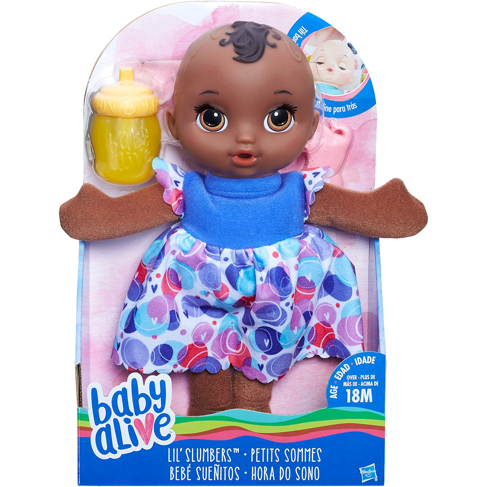 Nav Item for African American Lil Slumbers Doll 3pc Image #2