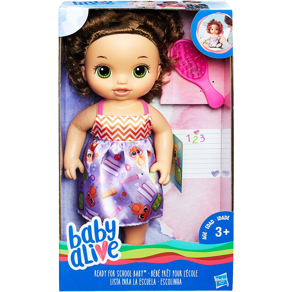 Brunette Ready for School Baby Doll 3pc Image #2