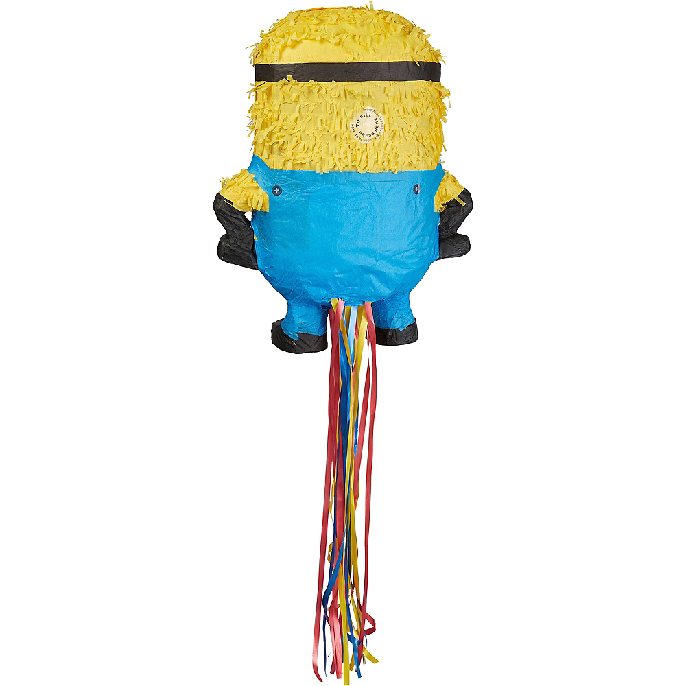 Pull String Carl Minion Pinata - Despicable Me 2 Image #2