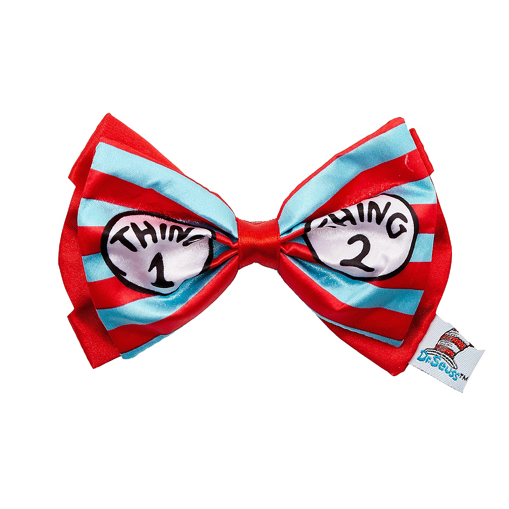 Thing 1 & Thing 2 Bow Tie - Dr. Seuss Image #1