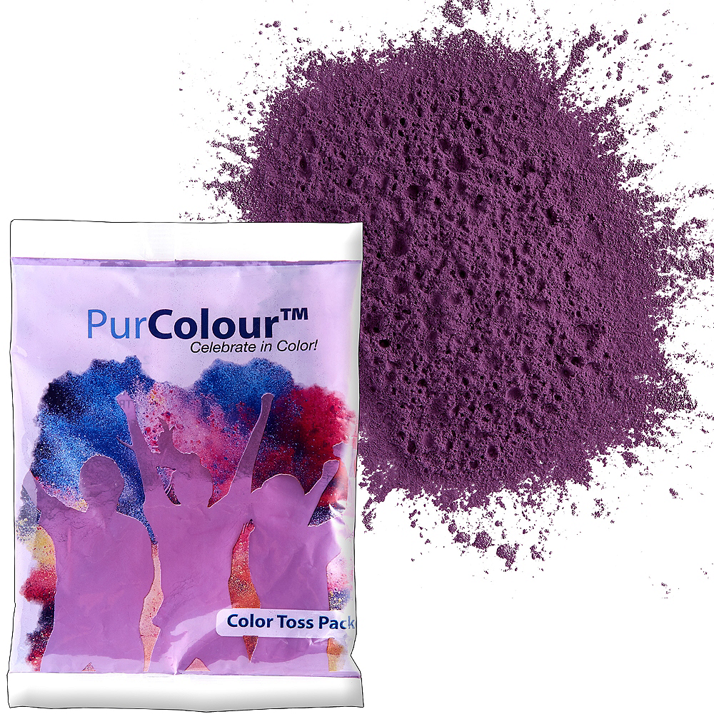 Purple Color Powder Image #1
