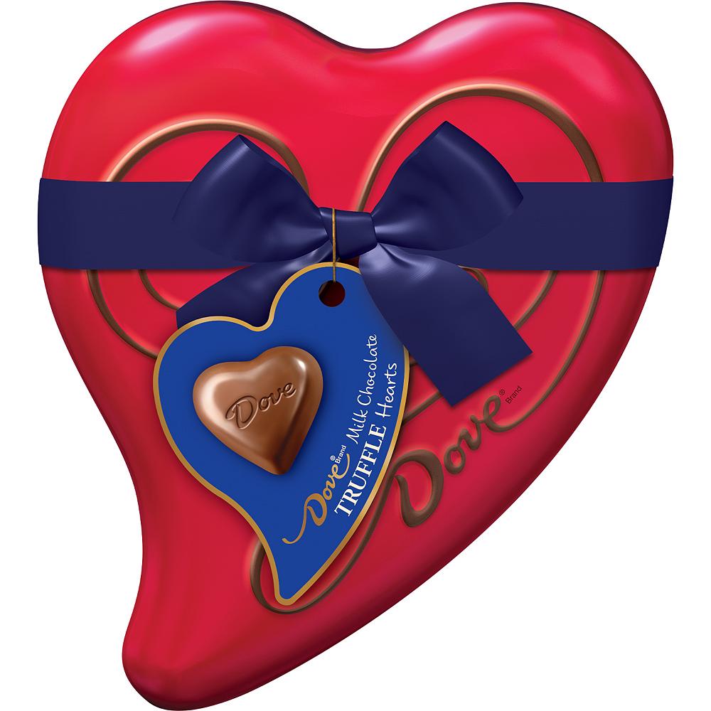 Milk Chocolate Dove Valentine's Day Truffles 8pc Image #1
