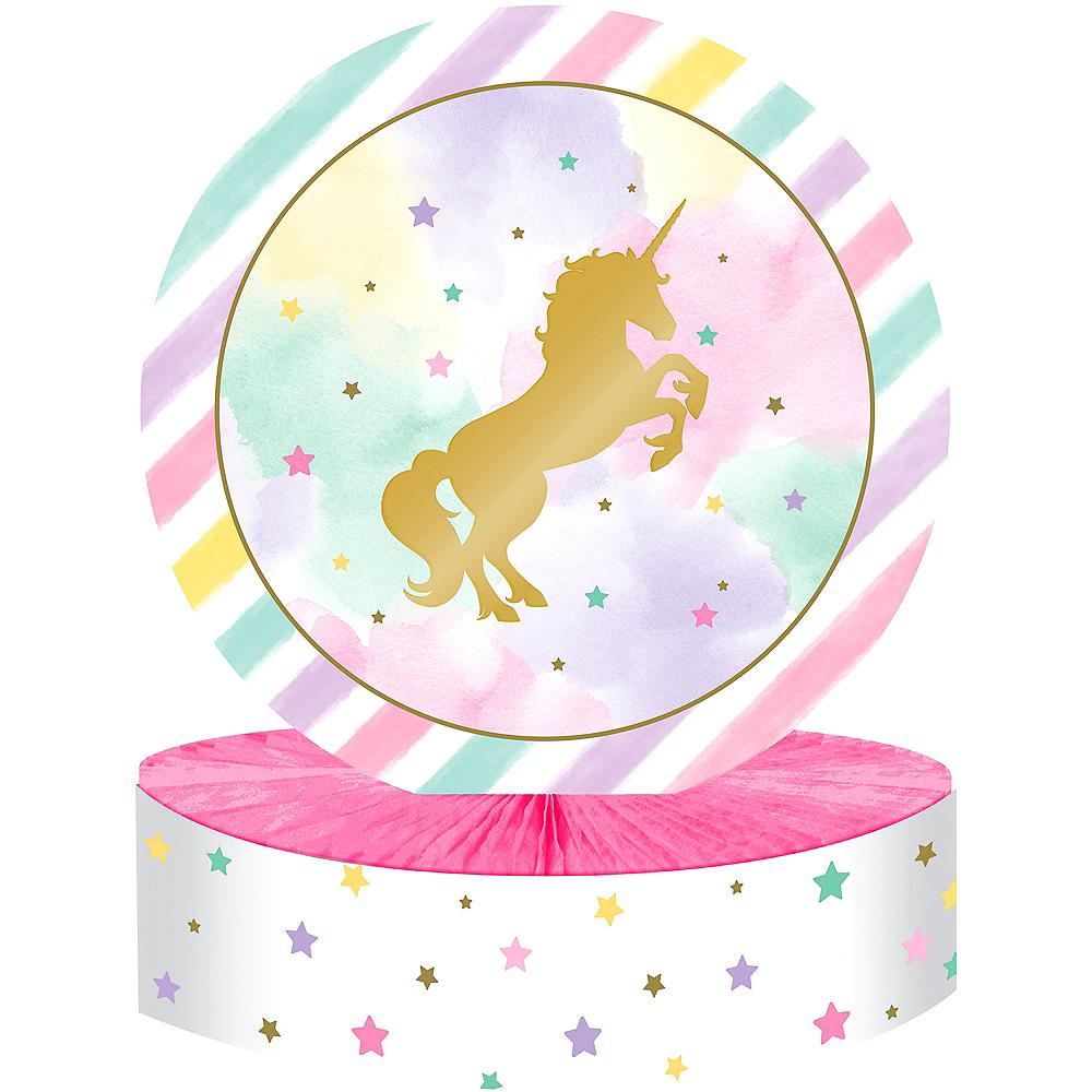Sparkling Unicorn Honeycomb Centerpiece Image #1
