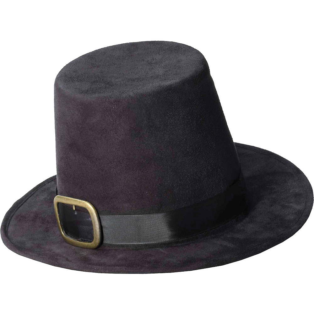 Gold Buckle Pilgrim Hat Image #1