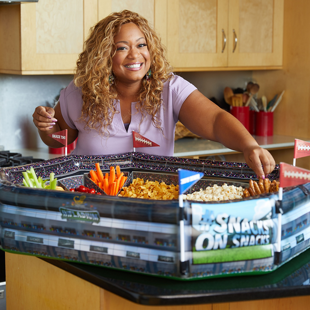 Sunny Anderson's Infladium™: The Inflatable Snack Stadium Food Container Refill Kit 13pc Image #3