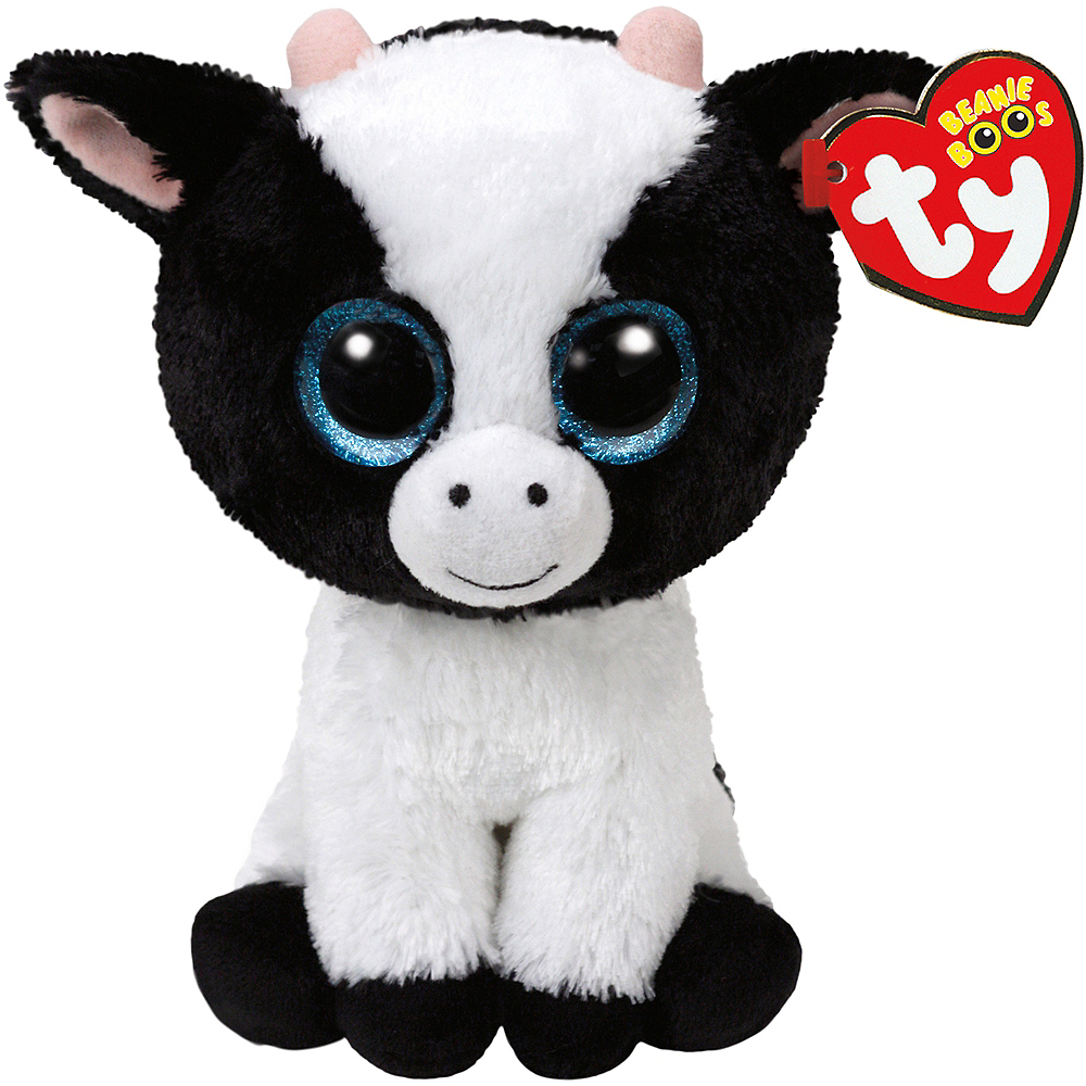 Butter Beanie Boo Cow Plush 5in x 6 1 2in  9200a1368
