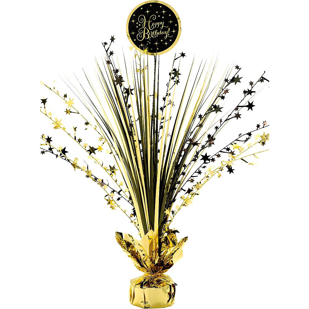 Gold Birthday Spray Centerpiece Image #1