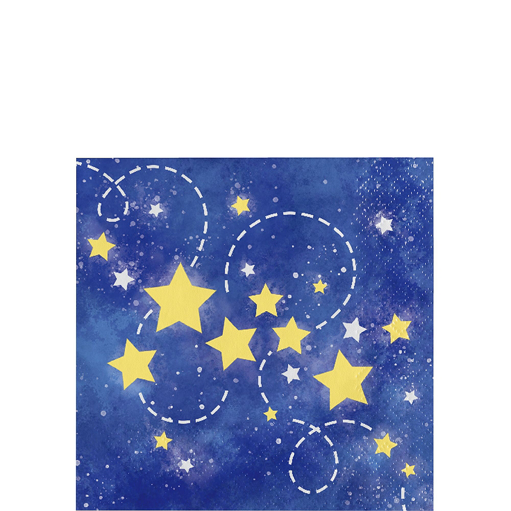 Moon & Stars Premium Baby Shower Tableware Kit for 32 Guests Image #5