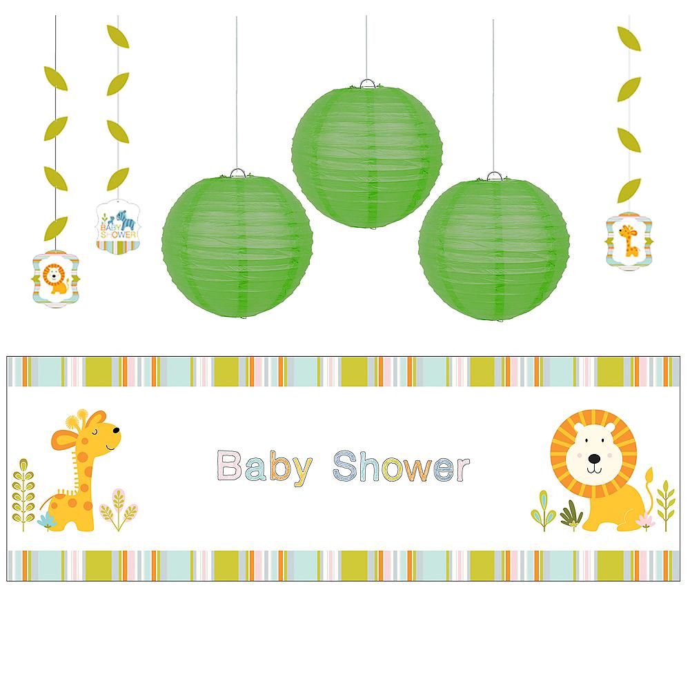 Happy Jungle Boy Decorations Shower Kit Image #1