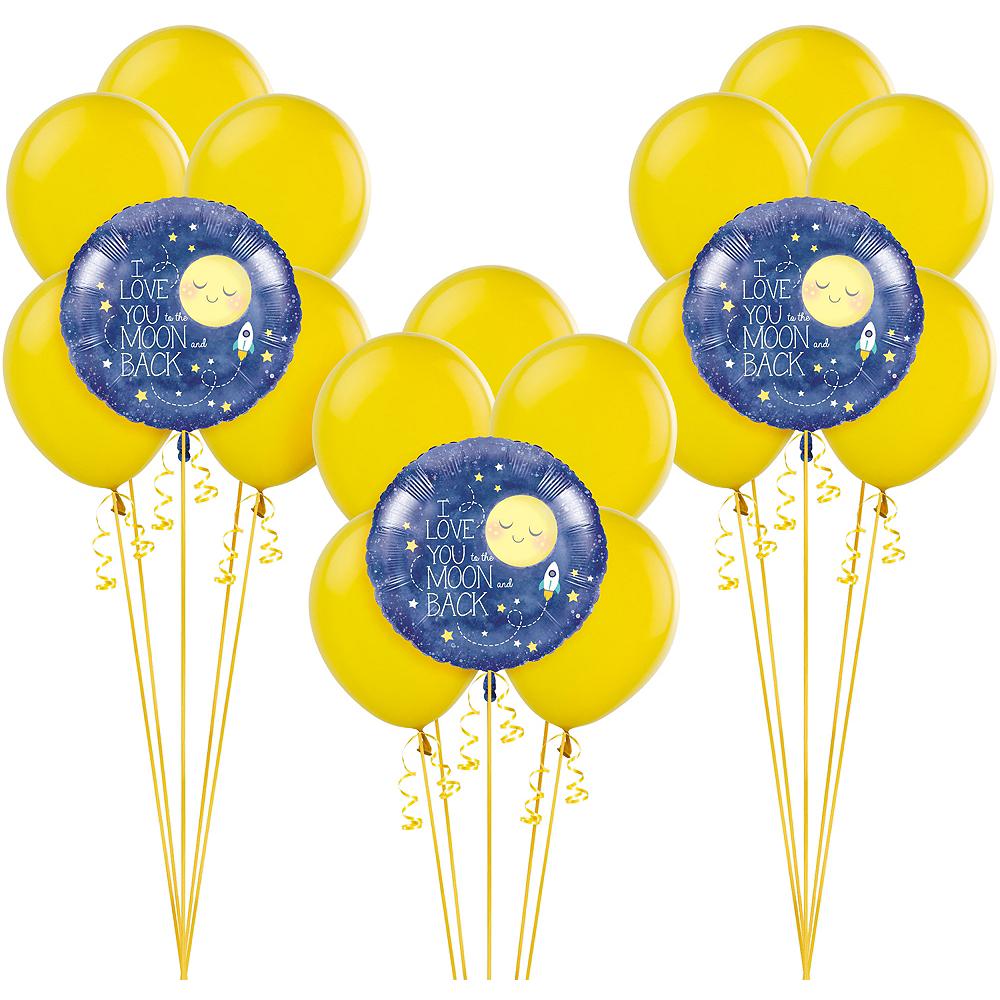 Moon & Stars Baby Shower Balloon Kit Image #1