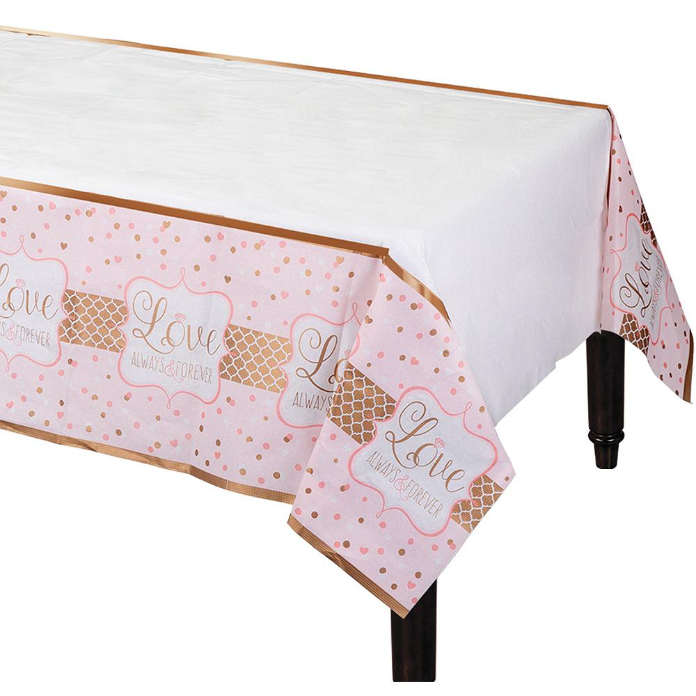 Sparkling Pink Wedding Bridal Shower Tableware Kit for 32 Guests Image #7